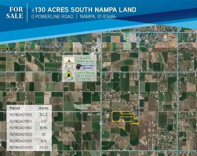 Nampa Residential Lots & Land For Sale: S Powerline Road