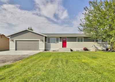 Nampa Single Family Home Back on Market: 10370 Cherry Lane