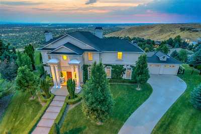 Boise ID Single Family Home For Sale: $1,299,990