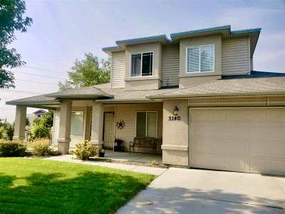 Meridian Single Family Home For Sale: 3140 W Wilder Ct.