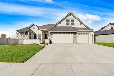 Meridian Single Family Home New: 5267 N Bolsena Way