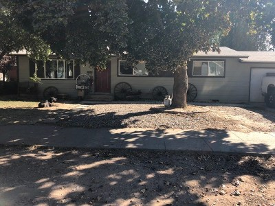Weiser Single Family Home For Sale: 117 E Butterfield St