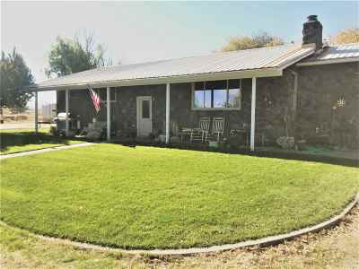 Weiser Single Family Home For Sale: 887 Eaton Road