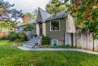 Boise Single Family Home For Sale: 3626 W Hill Road