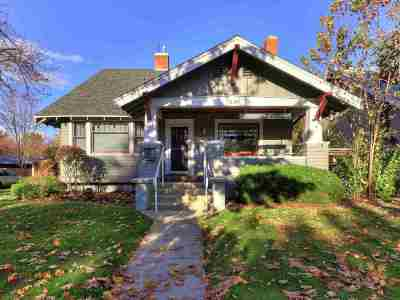 Boise Single Family Home For Sale: 1320 W Franklin St