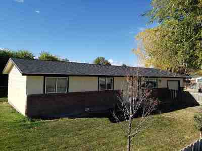 Owyhee County Single Family Home For Sale: 620 N W 5th St.