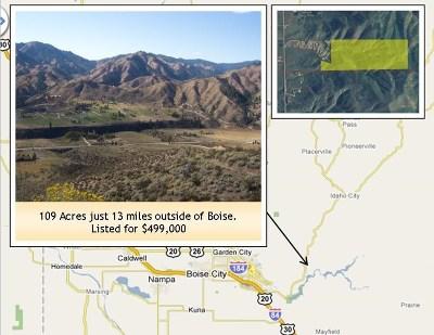 Boise Residential Lots & Land For Sale: Stewart Segregation