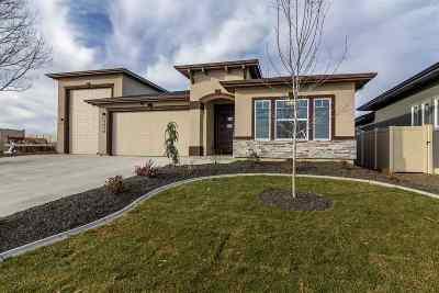 Meridian Single Family Home New: 3339 Cobble Pl