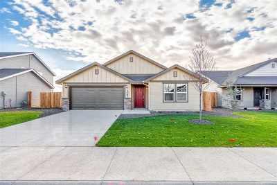 Boise, Meridian, Nampa, Eagle, Caldwell Single Family Home New: 7857 E Bunker Hill St.