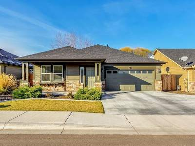 Meridian ID Single Family Home New: $299,900