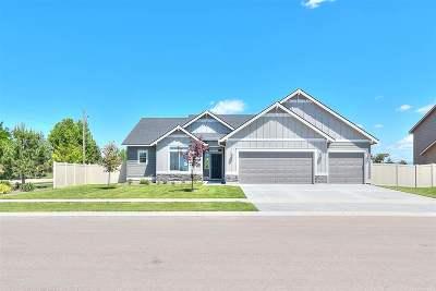 Boise Single Family Home New: 9673 W Burnett Dr.