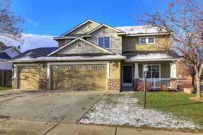 Kuna Single Family Home For Sale: 743 N Mudstone Way