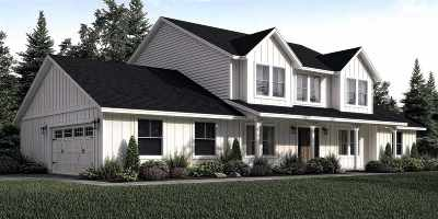 Single Family Home For Sale: Buttercup Lane (Lot 6)