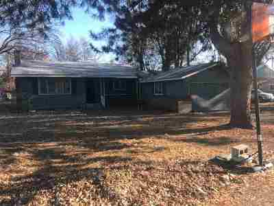 Weiser Single Family Home For Sale: 1324 W 3rd