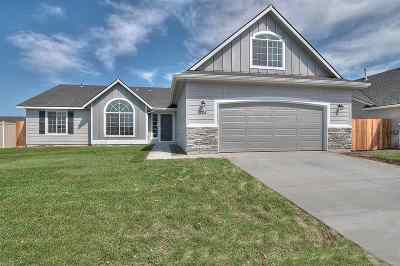 Kuna Single Family Home New: 2558 W Midnight Dr.