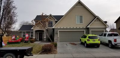 Nampa Single Family Home For Sale: 749 W Tropical Drive
