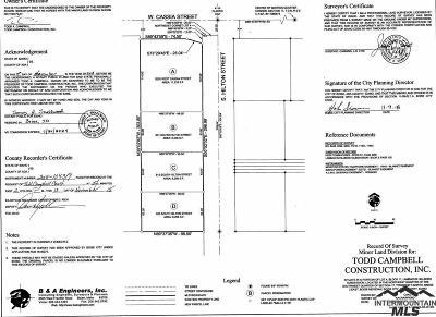 Boise Residential Lots & Land For Sale: 813 S Hilton Street