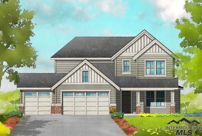 Meridian Single Family Home For Sale: 5272 S Acheron Ave