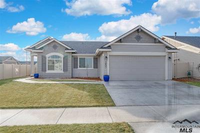 Meridian Single Family Home For Sale: 5403 W Astonte Drive