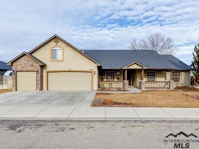 Meridian Single Family Home For Sale: 2092 Fieldstream Dr.