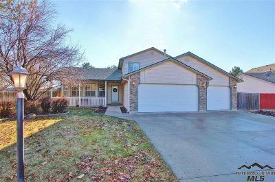 Meridian Single Family Home For Sale: 3388 N Summerfield Way