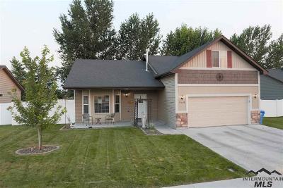Twin Falls Single Family Home New: 949 Borah Avenue W.