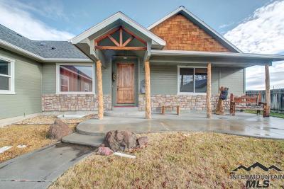 Fruitland ID Single Family Home For Sale: $339,000