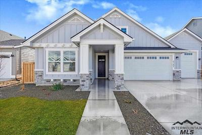 Meridian Single Family Home New: 4147 W Sunny Cove St