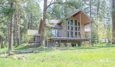 Cascade, Donnelly, Mccall, New Meadows Single Family Home For Sale