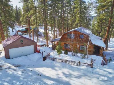 Idaho City Single Family Home For Sale: 25 Bull Pine Road