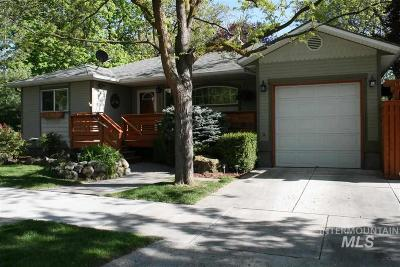 Boise Single Family Home For Sale: 2601 W Lemp Street