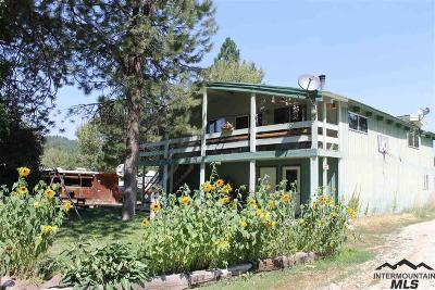 Idaho City Single Family Home For Sale: 300 Elk Creek Rd