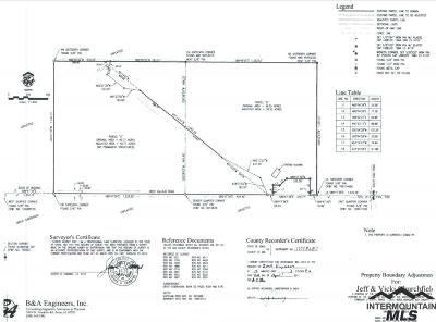 Ada County Residential Lots & Land For Sale: 7680 W Vallejo Rd