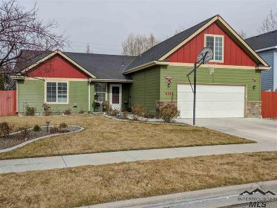 Nampa Single Family Home New: 4354 E Burgundy