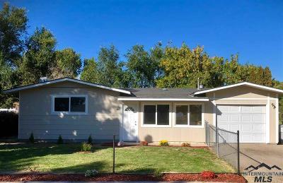 Caldwell Single Family Home Back on Market: 1607 Missoula