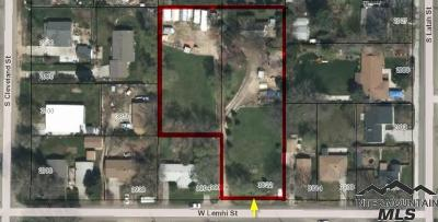 Boise Residential Lots & Land For Sale: 3822 W Lemhi