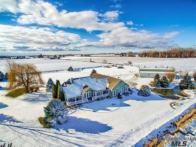 Emmett Single Family Home For Sale: 3400 W Central Rd