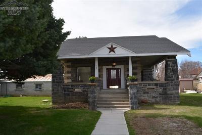 Shoshone Single Family Home For Sale: 107 W A Street