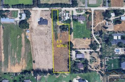 Eagle Residential Lots & Land For Sale: 1723 W Washam Road