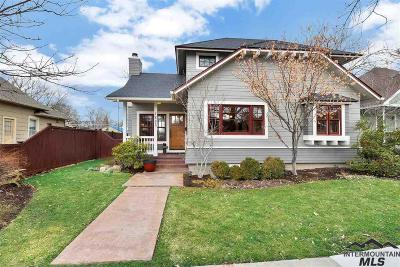 Boise Single Family Home For Sale: 1805 N 11th Street