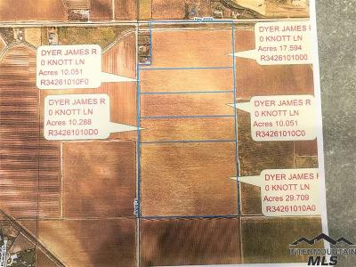 Nampa Residential Lots & Land For Sale: Hiway 20/26