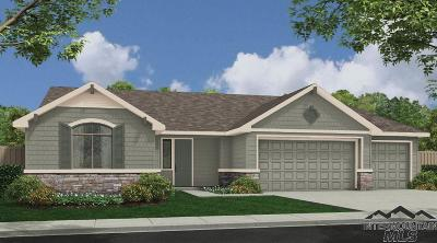 Meridian Single Family Home For Sale: 1198 W Elias Drive