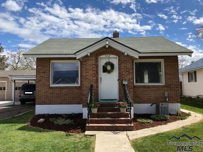 Nampa Single Family Home Price Change: 512 7th Avenue South