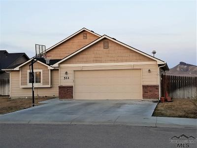Owyhee County Single Family Home For Sale: 522 Morning Dove Way