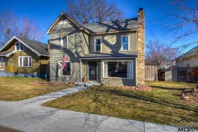 Emmett Single Family Home For Sale: 406 E 2nd St