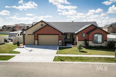 Single Family Home For Sale: 375 W Meadow Creek Way