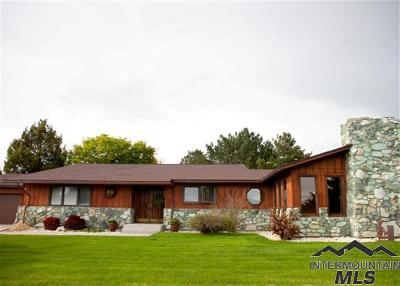 Weiser Single Family Home For Sale: 880 Jenkins Creek Road