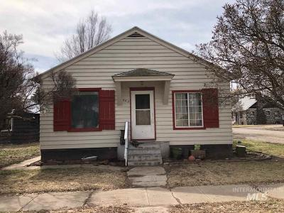 Shoshone Single Family Home For Sale: 210 East 2nd Street