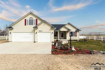 Nampa Single Family Home For Sale: 18834 Midland