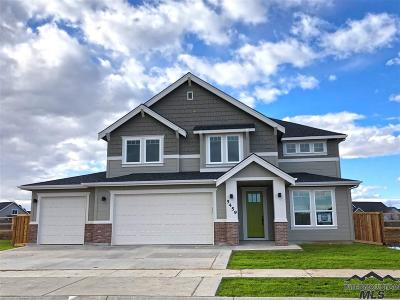 Meridian Single Family Home For Sale: 4087 W Everest St.